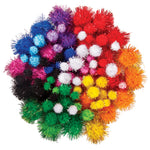 POM POMS, Glitter, Pack of 100