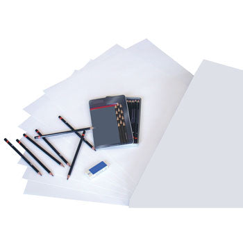 PAPER, DRAWING CARTRIDGE, WHITE, Superior Quality, 100gsm, A1, Pack of 125 sheets