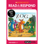 Key Stage 1, READ & RESPOND, Zog, Read & Respond, Each