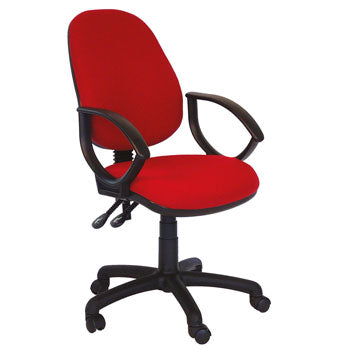 OPERATOR CHAIRS, High Back, With Fixed Arms, Tarot, OFFICE UPDATE LTD