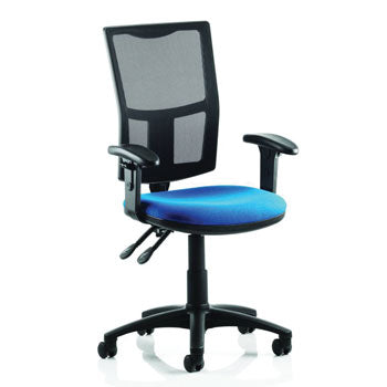 OPERATOR CHAIRS, MESH BACK, With Fixed Arms, Tarot