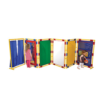 PLAY PANEL SERIES, PLAY PANEL SERIES, 6 ACTIVITY PANELS, Rectangular Panel, 12 months+, Set of 6