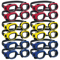 SWIMMING ACCESSORIES, GOGGLES, ZOGGS, Child's, Pack of 12