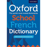 DICTIONARY, BILINGUAL, Oxford School French, Age 10+, Each