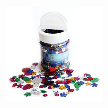 SEQUINS, Holographic, Tub of 100g