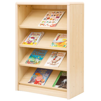 ELEGANT STORAGE RANGE, SLOPING BOOK DISPLAY UNIT, Each