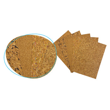 CORK SHEETS, A4, Pack of 10