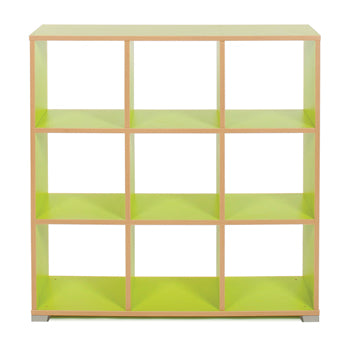 CUBE ROOM DIVIDERS, 9 Cube, Lime