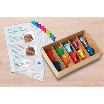 LEFT, WRITE, Pack of 10