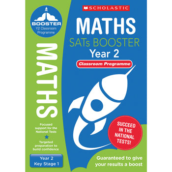 NATIONAL CURRICULUM SATS BOOSTER CLASSROOM PROGRAMME, Year 2, Pack