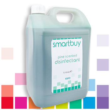 Smartbuy, PINE SCENTED DISINFECTANT, Case of 4 x 5 litres