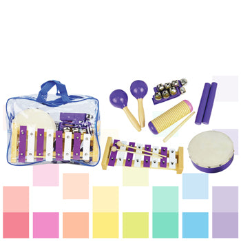 Smartbuy, CHILDREN'S COLOURED PERCUSSION PACK, Pack