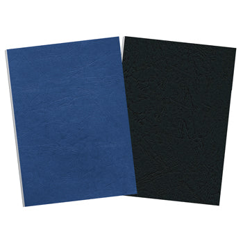 BINDING COVERS - LEATHERBOARD, Black, A4, 250gsm, Pack of 100