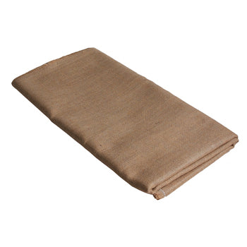 TEXTILES, PLAIN FABRIC, HESSIAN, Natural Plain Back, 960mm wide, Pack of 5 metres