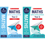 SATS MATHS CHALLENGE CLASSROOM PROGRAMME, Maths Workbook, Year 6, Pack of 10