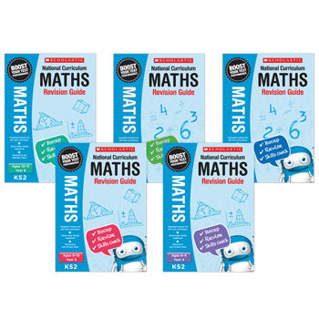 MATHS REVISION GUIDES, Year 6, Pack of 6