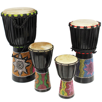 Djembe Drums, 10 Player, Set
