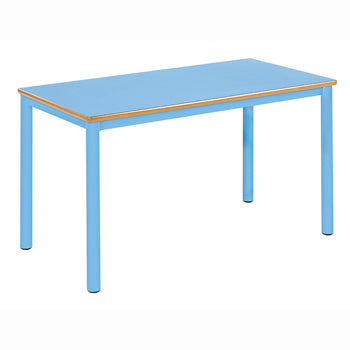 PREMIUM NURSERY TABLES, RECTANGULAR, Sizemark 1 - 460mm height, Green