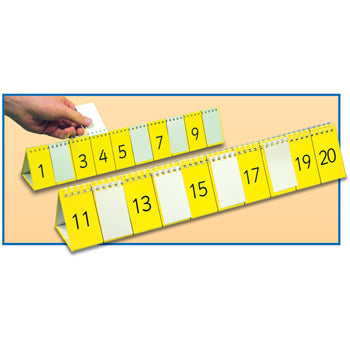 NUMBER FLIPS, 1-10 and 11-20, Each