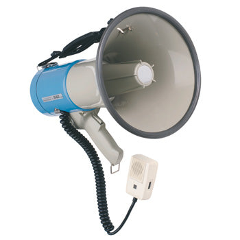 MEGAPHONES WITH SIREN, 30W, Each
