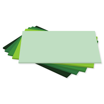 TONAL CARD, Greens, Pack of 500 sheets
