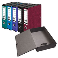 Smartbuy, BOX FILES, FOOLSCAP WITH LIDS, Coloured, Green, Box of 10