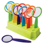 HANDY MAGNIFIERS IN STAND, Pack of 12