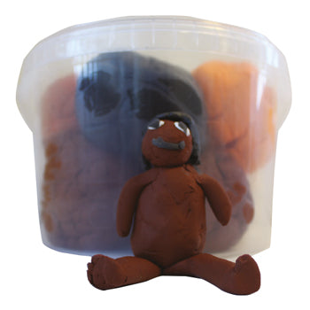 SOFT DOUGH, Skin Tone Colours, Age 1+, Tub of 8 x 300g