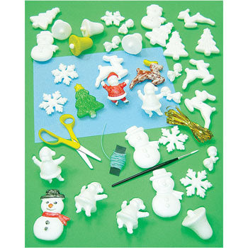 CHRISTMAS SHAPES, Pack of 35