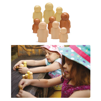 LITTLE PEOPLE - SENSORY PLAY SET, Age 3+, Set of 9
