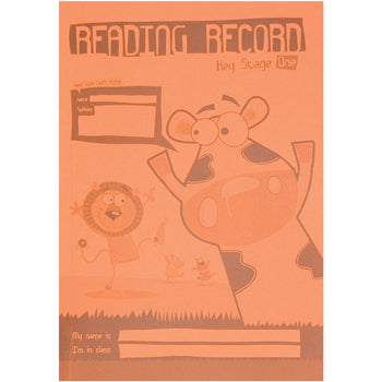 A5 READING RECORDS, Key Stage 1, Pack of 30
