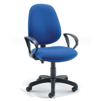 SWIVEL, OPERATOR CHAIRS, HIGH BACK, With Fixed Arms - (580mm width), Tarot