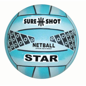 NETBALLS, Sure Shot Star, Size 5, Each