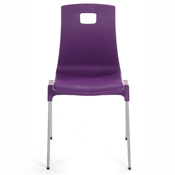 CLASSROOM CHAIRS, ST CHAIR, Sizemark 3 - 350mm Seat height, Purple