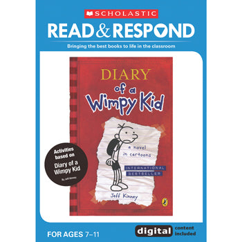 READ & RESPOND Lower Key Stage 2, Diary of a Wimpy Kid, Read & Respond, Each