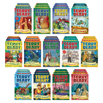 TERRY DEARY HISTORICAL TALES PACK, Age 7+, Set of 52
