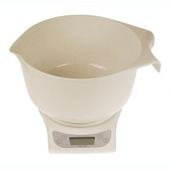 SCALES, KITCHEN, Electronic with Aquatronic(TM) Feature, Including Bowl, Each