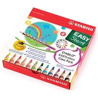 PENCILS, STABILO(R) EASYColours, Pack of 48