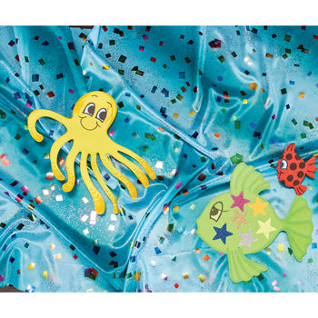 DISPLAY FABRICS, Sealife, 1 x 1.5m, Each