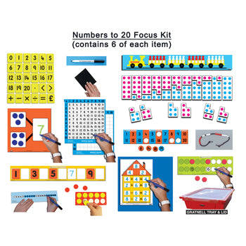 MATHS FOCUS KITS, Numbers to 20, Kit