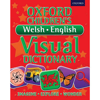 DICTIONARY, BILINGUAL, Oxford Children's Welsh-English Visual, Age 8+, Each