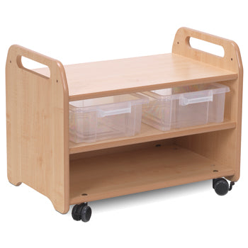 Millhouse CREATIVITY ZONE, EASEL STAND AND STORAGE TROLLEY
