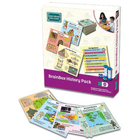 BRAINBOX HISTORY PACK, Age 7-11, Pack