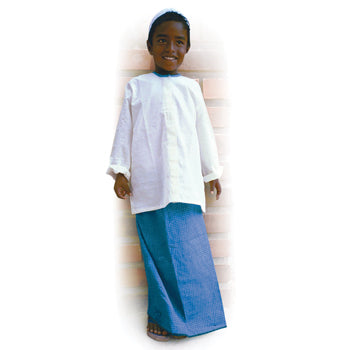 MULTI-ETHNIC DRESSING UP OUTFITS, Boy's Lungi, Each
