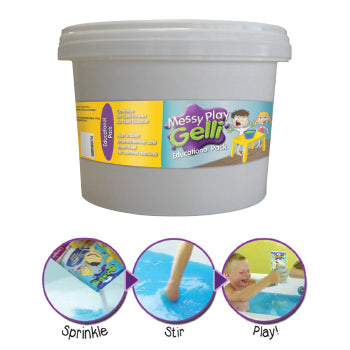 SAND AND WATER PLAY, GELLI BAFF EDUCATIONAL PACK, Tub of 1.5kg