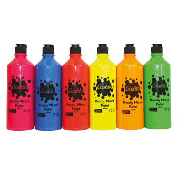 Starter Pack, Standard Brights, Pack of 6 x 600ml