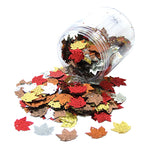 SEQUINS, Leaf Shaped, Tub of 100g