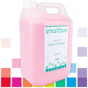 Smartbuy, Pearlised Hand Soap, Case of 2 x 5 litres
