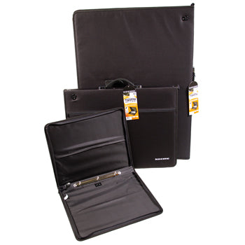 DRAWING PORTFOLIOS, Ring Binder Spine, Graduate Art Cases, A2, Each