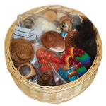 NATURAL COLLECTION TREASURE BASKET, Age 3+, Set of 25